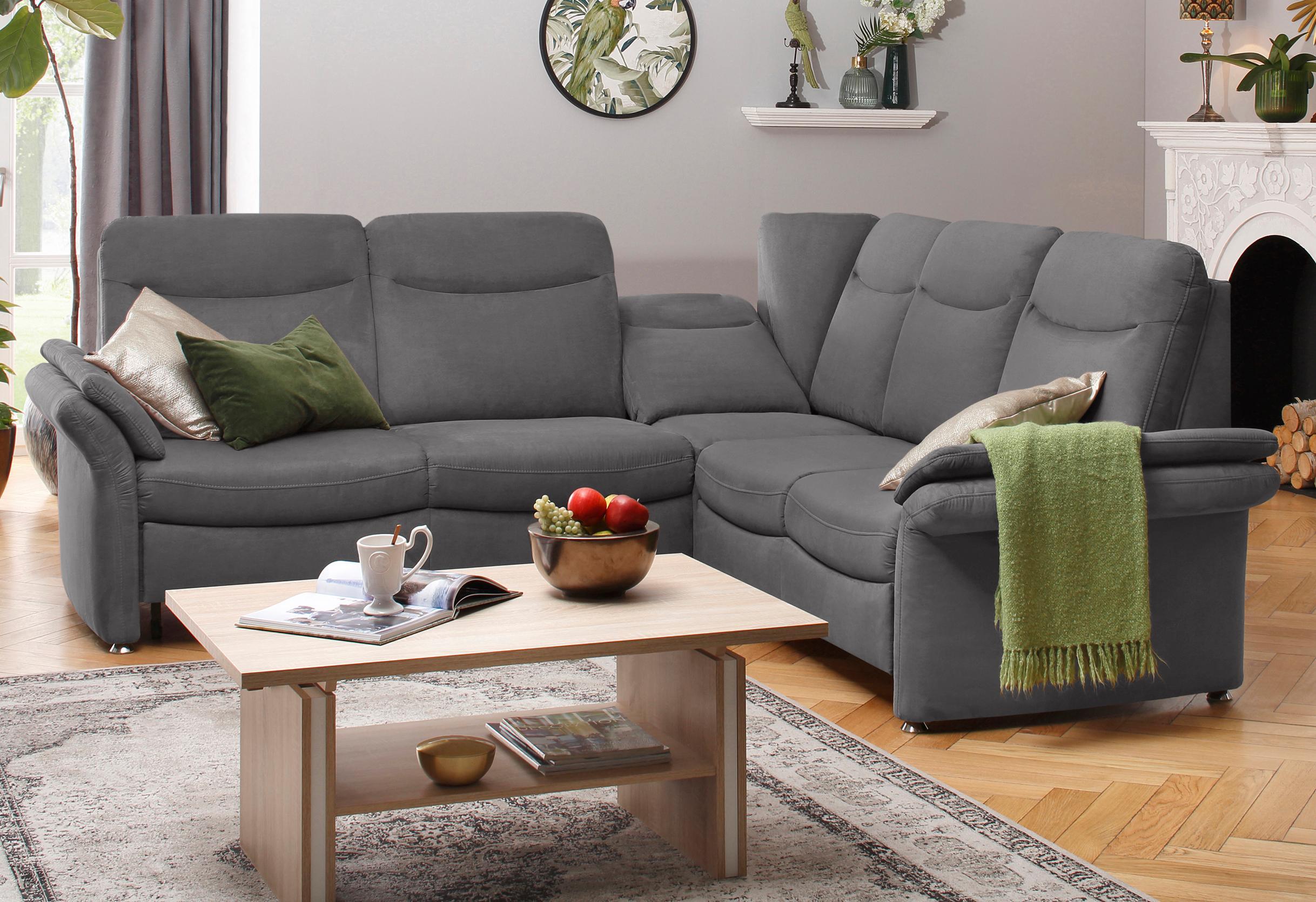 delavita ecksofa tahoma mit armlehnfunktion wahlweise. Black Bedroom Furniture Sets. Home Design Ideas