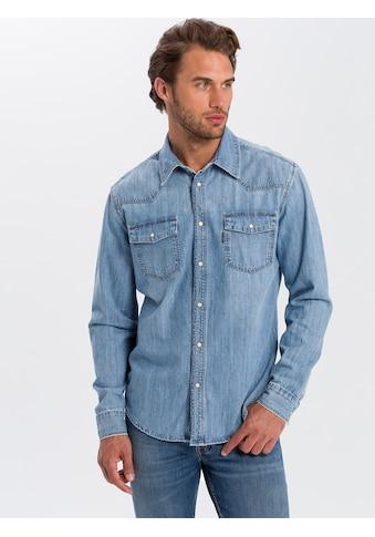 Cross Jeans® Jeanshemd »A 208« kaufen