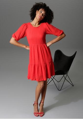 Aniston CASUAL Sommerkleid, aus strukturiertem Jersey kaufen