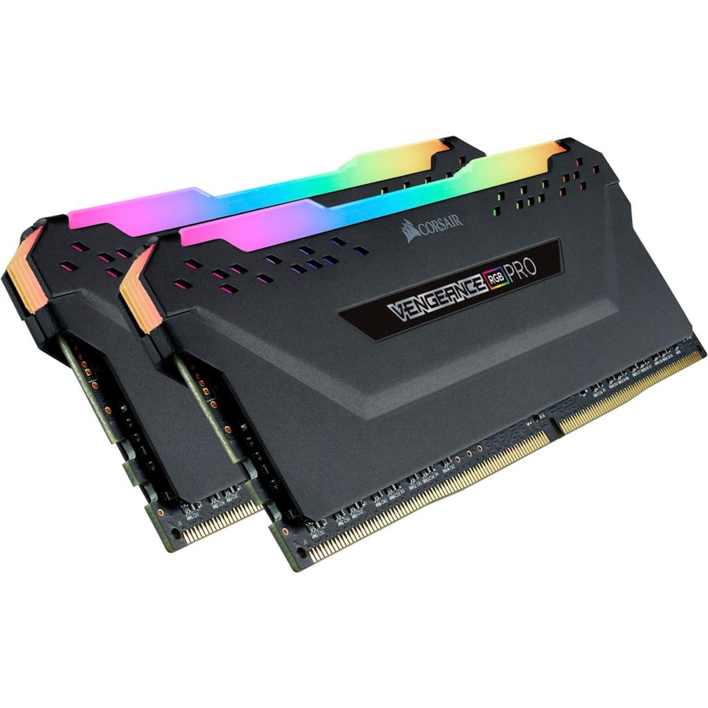 Corsair PC-Arbeitsspeicher »VENGEANCE® RGB PRO 32 GB (2 x 16 GB) DDR4 DRAM 3.600 MHz C18«