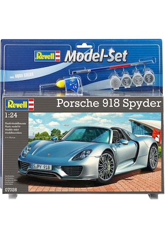 Revell® Modellbausatz »Porsche 918 Spyder«, 1:24, Made in Europe kaufen