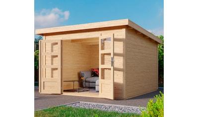KARIBU Gartenhaus »Edersee 3«, BxT: 342x333 cm kaufen