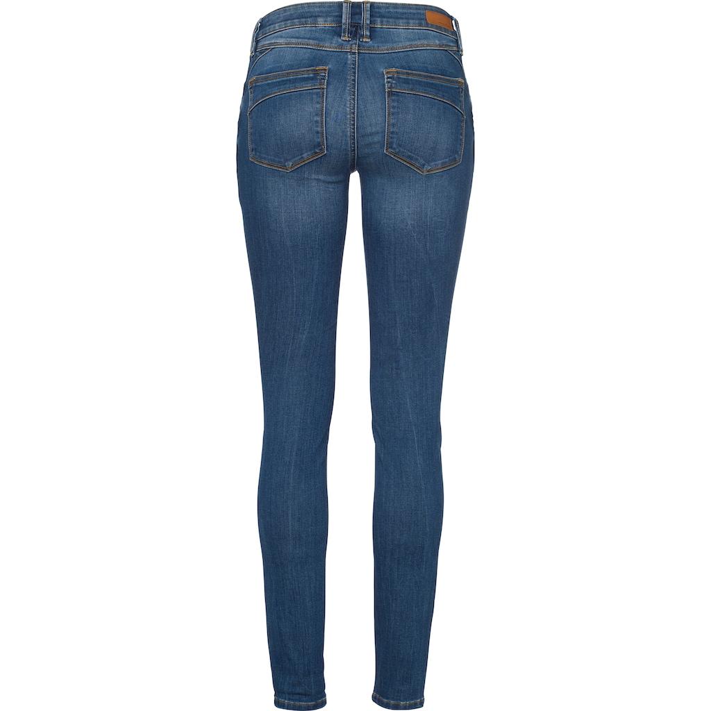 TOM TAILOR Denim Skinny-fit-Jeans, mit starker Waschung