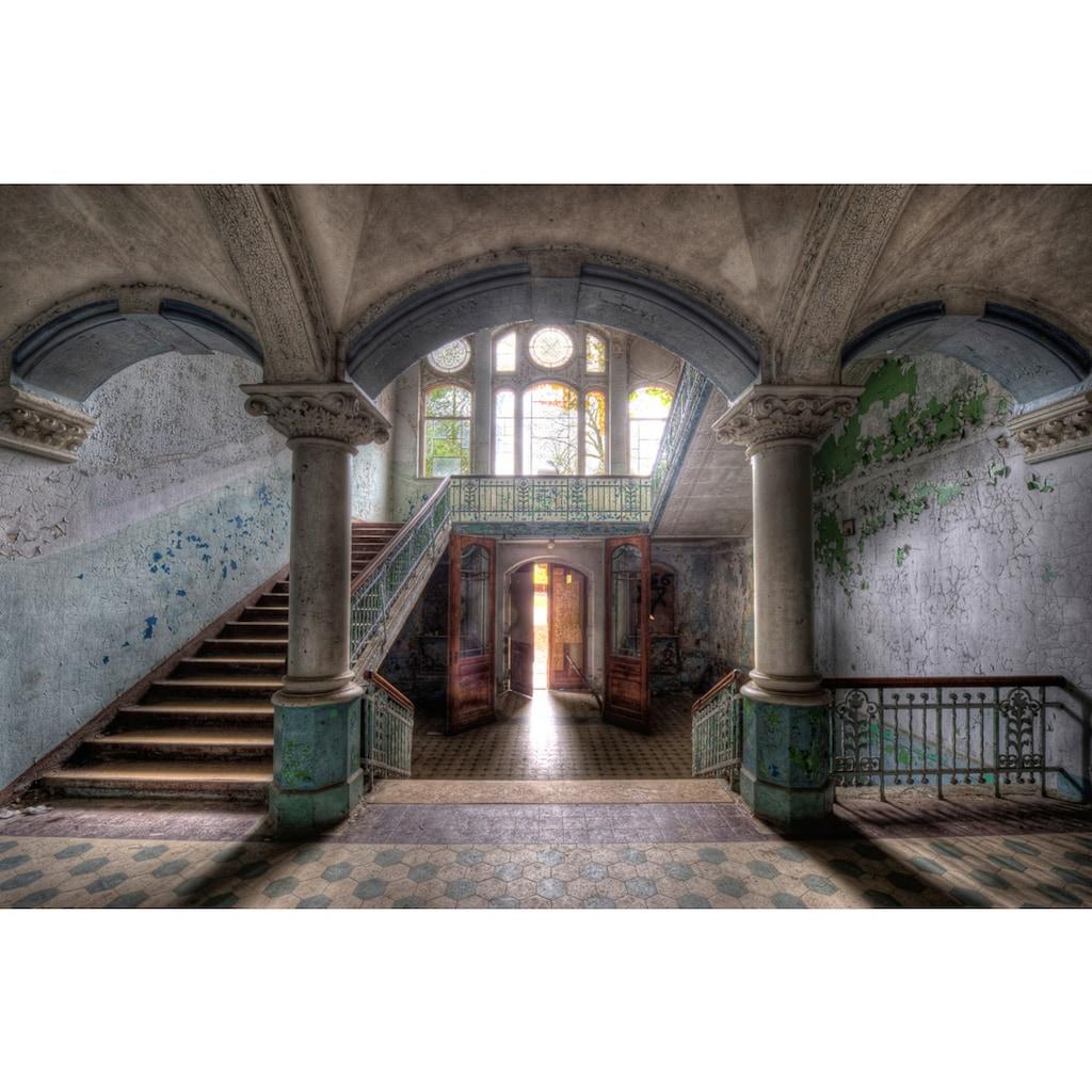 Papermoon Fototapete »Lost Space Beelitz«, Vliestapete, hochwertiger Digitaldruck