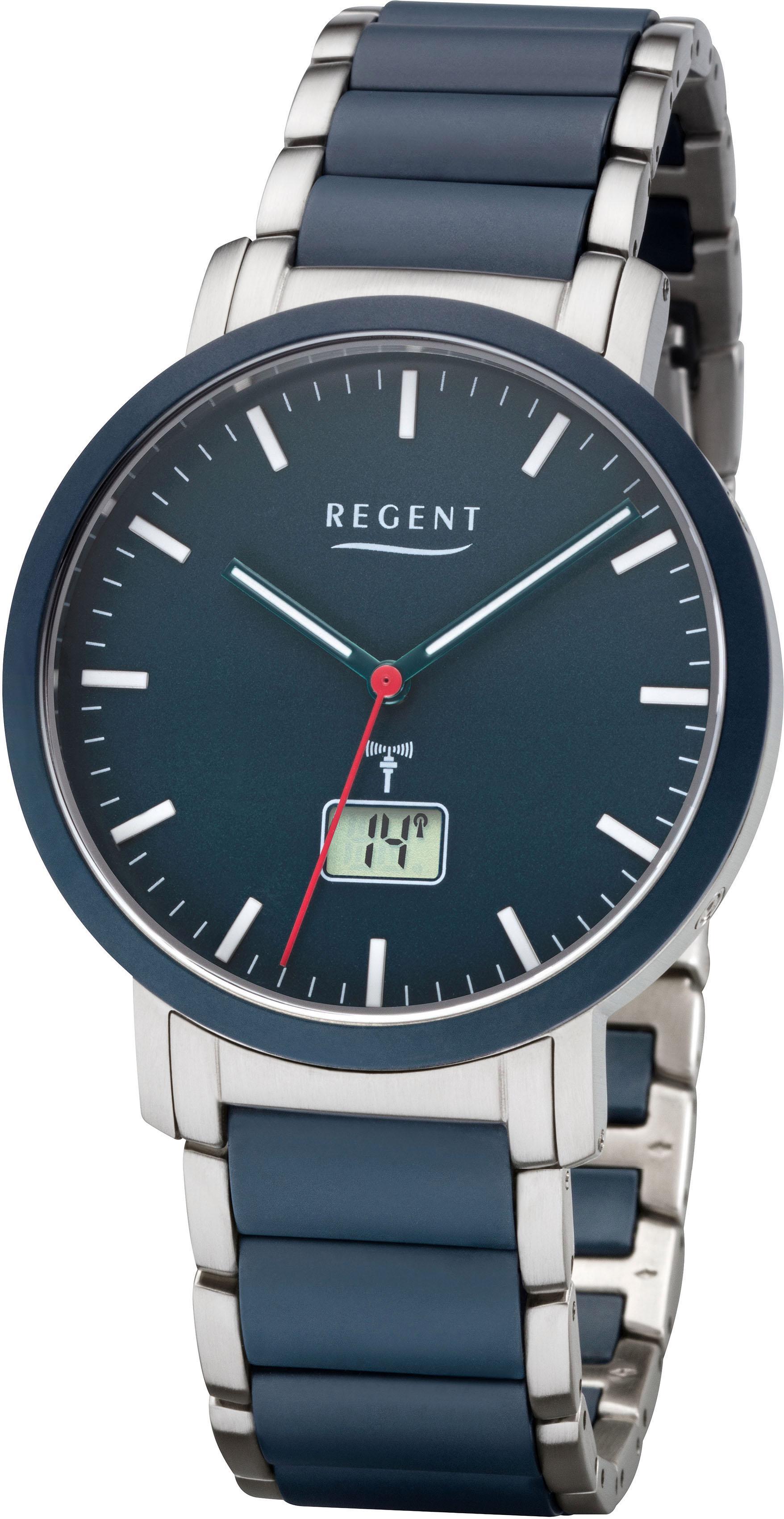 Regent Funkuhr 18664094 FR254 | Uhren > Funkuhren | Blau | Regent