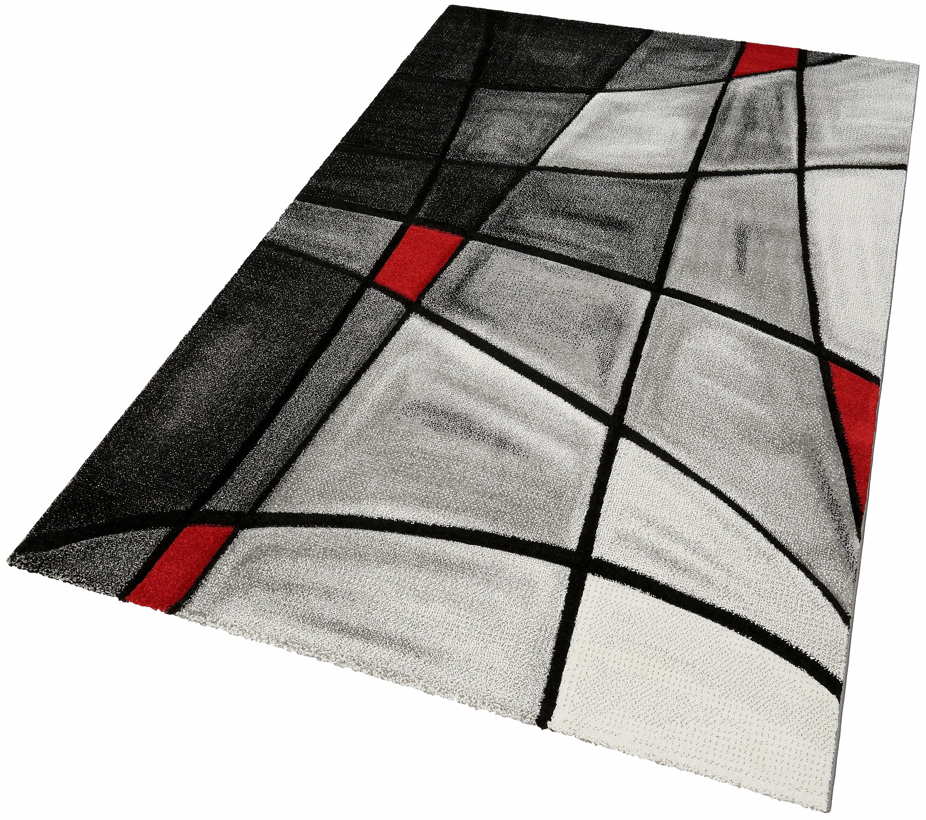 teppich doubs merinos rechteckig h he 13 mm. Black Bedroom Furniture Sets. Home Design Ideas
