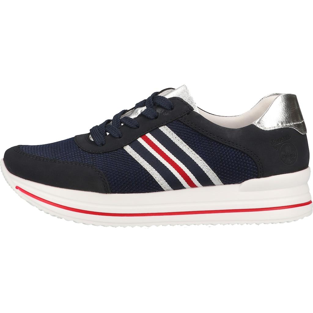 Rieker Sneaker »Lederimitat/Textil«