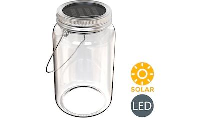 B.K.Licht LED Laterne »Solaris-Mini«, LED-Board, Warmweiß, LED Solar-Licht Lampe... kaufen