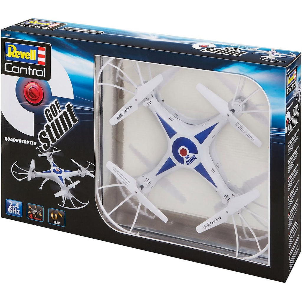 Revell® RC-Quadrocopter »Revell® control, GO! Stunt«, mit LED-Beleuchtung