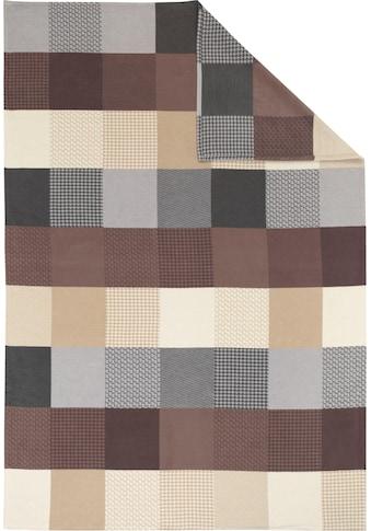 IBENA Wohndecke »Pittsburgh«, mit vielen Vierecken kaufen