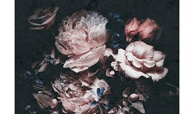 Consalnet Vliestapete »Rosafarbige Blumen«, floral kaufen