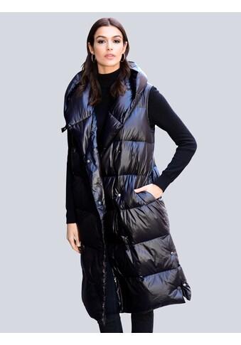 Alba Moda Steppweste, mit voluminösem Kragen kaufen