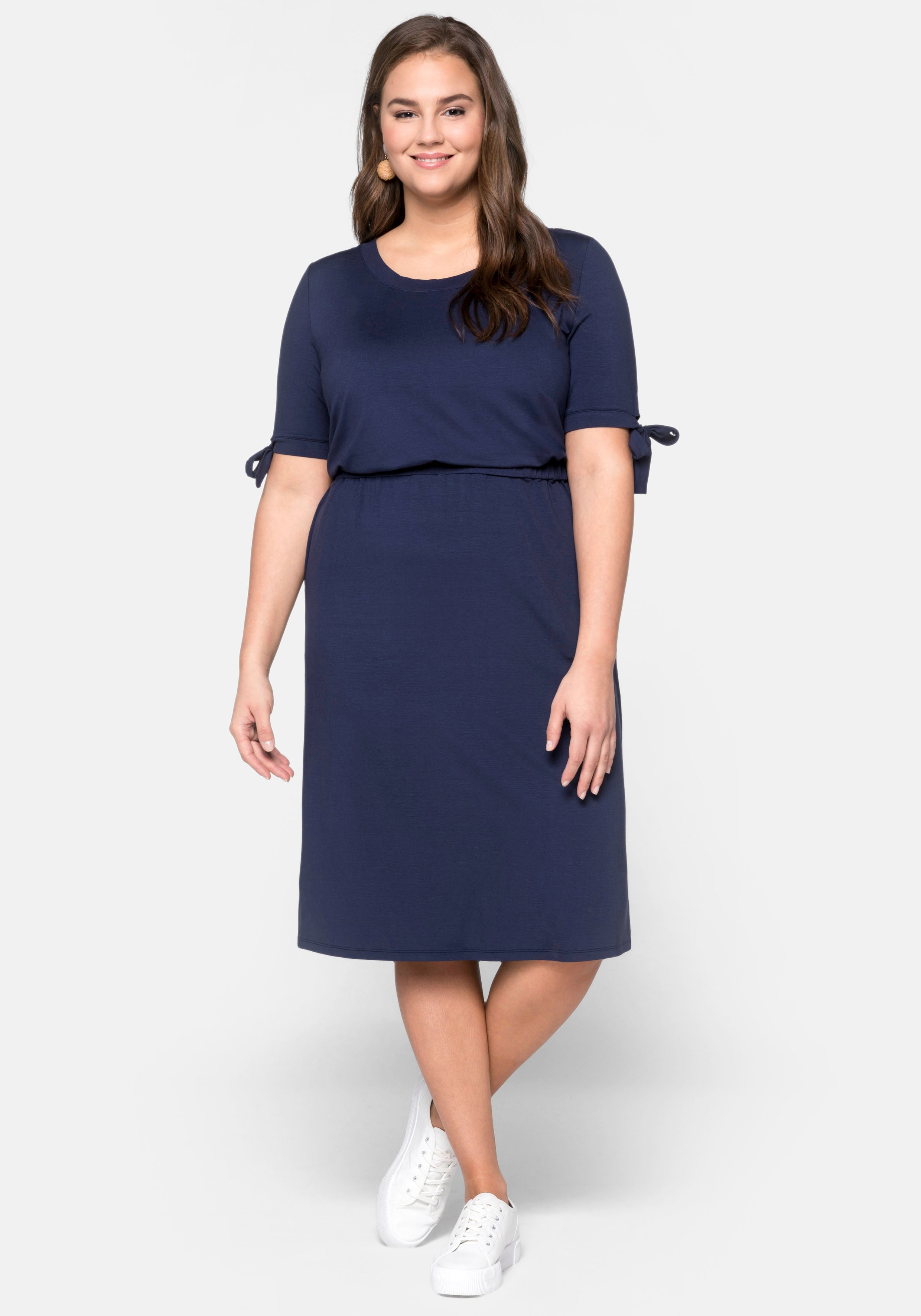 Sheego Shirtkleid Damenmode/Bekleidung/Kleider/Shirtkleider