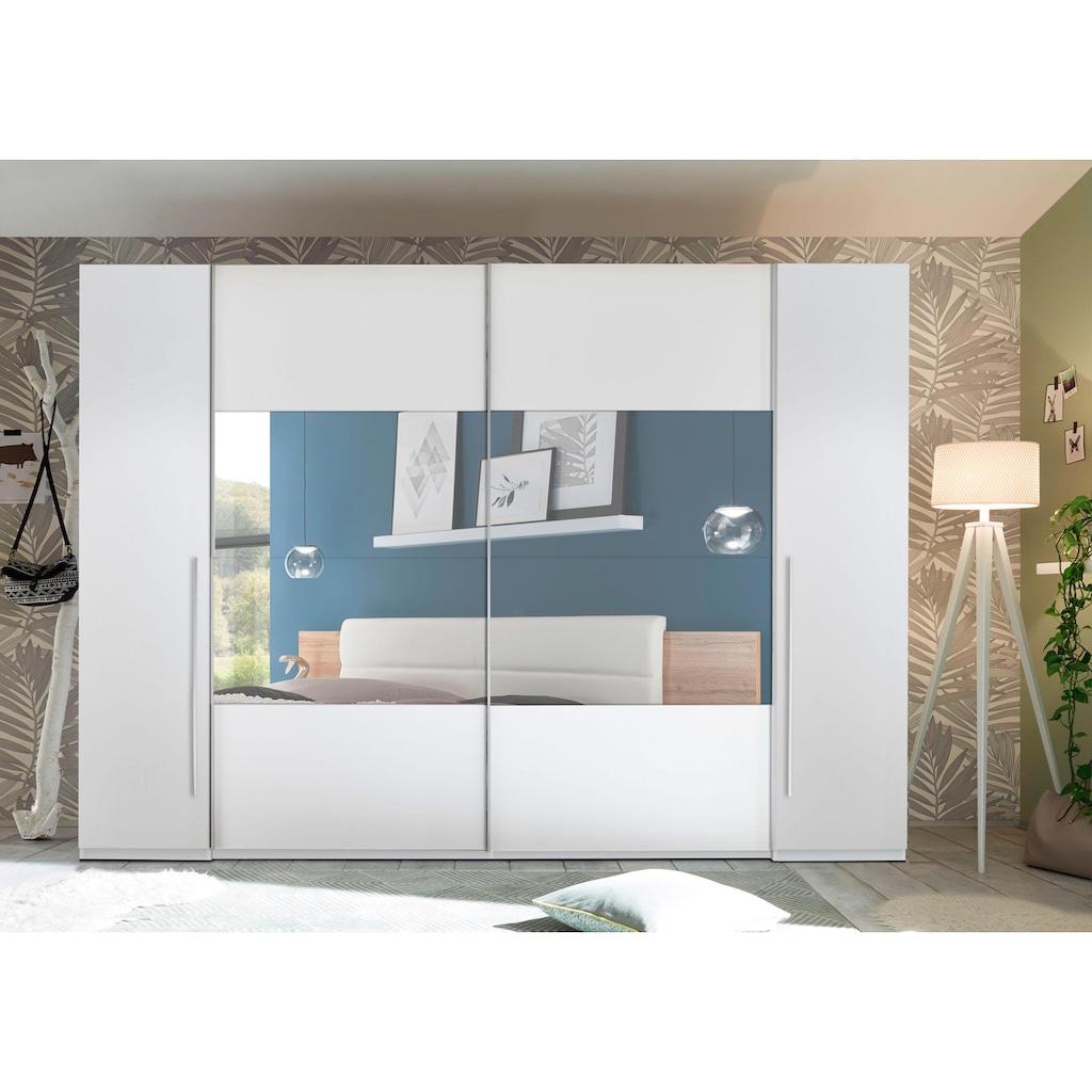 Schlafkontor Schwebetürenschrank »Mega«, mit Dreh- und Schwebetüren