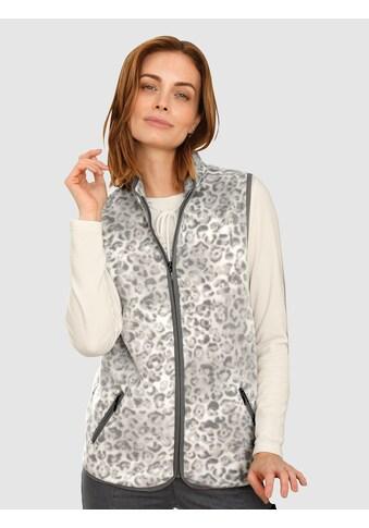 Paola Fleeceweste, mit Kontrastdetails kaufen