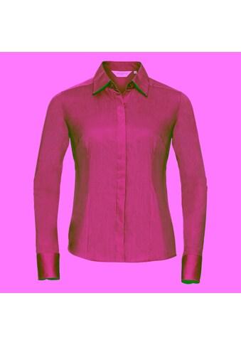 Russell Langarmbluse »Collection Popelin Bluse / Hemd, Langarm, pflegeleicht, tailliert« kaufen