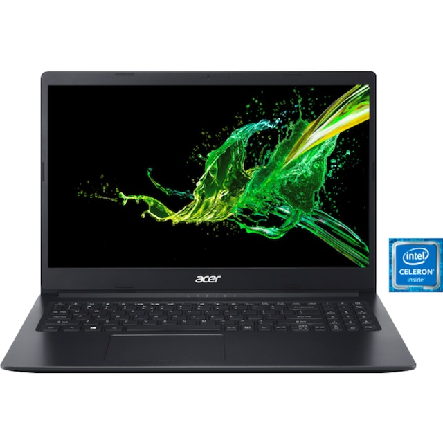 Acer Aspire 3 A315-34-C9JL Notebook (39,62 cm / 15,6 Zoll, Intel,Celeron, 128 GB SSD)