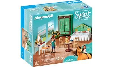 Playmobil® Konstruktions-Spielset »Luckys Schlafzimmer (9476), Spirit Riding Free«, Made in Europe kaufen
