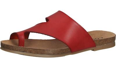 COSMOS Comfort Zehentrenner »Leder« kaufen