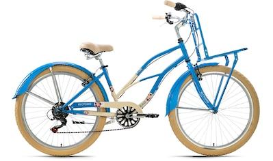 KS Cycling Cruiser »Kahuna«, 6 Gang Shimano Tourney Schaltwerk, Kettenschaltung kaufen
