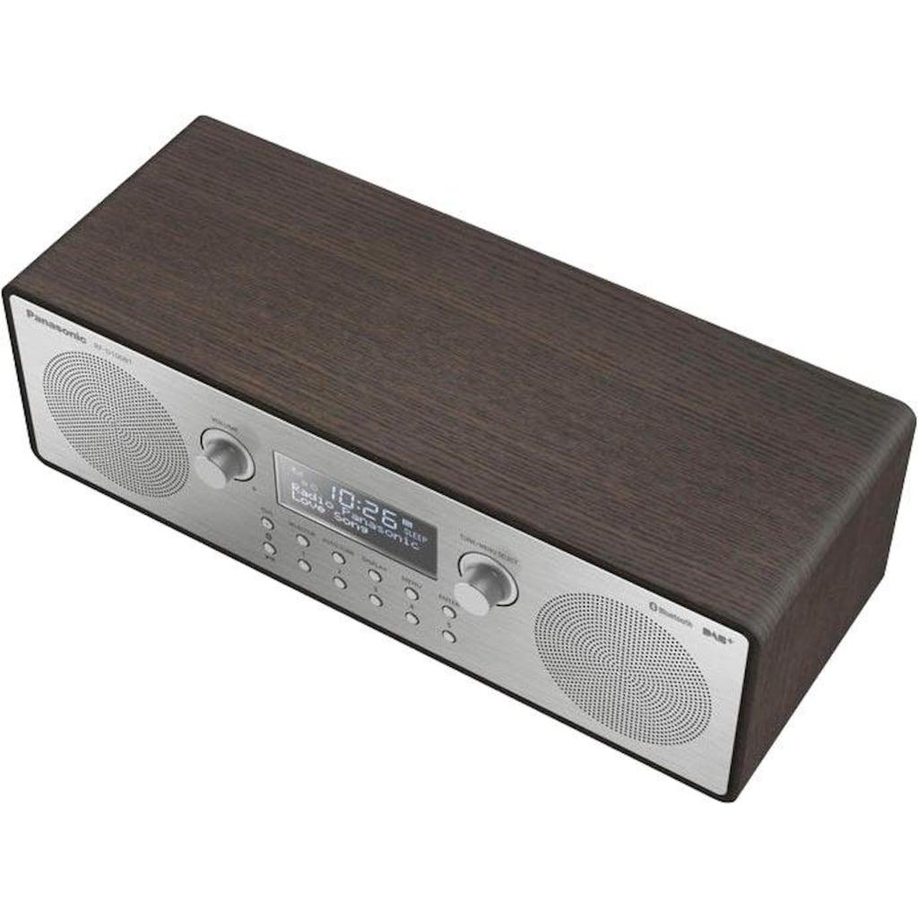 Panasonic Radio »RF-D100BTEGT«, (Bluetooth Digitalradio (DAB+)-FM-Tuner mit RDS 10 W)