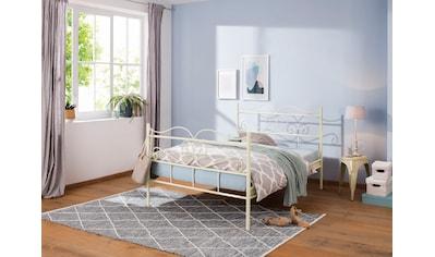 Home affaire Metallbett »Jübek«, aus einem Metallgestell, in verschiedenen Bettbreiten... kaufen