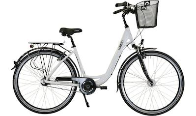 HAWK Bikes Cityrad »HAWK City Wave Deluxe Plus White«, 7 Gang, Shimano, Nexus Schaltwerk kaufen
