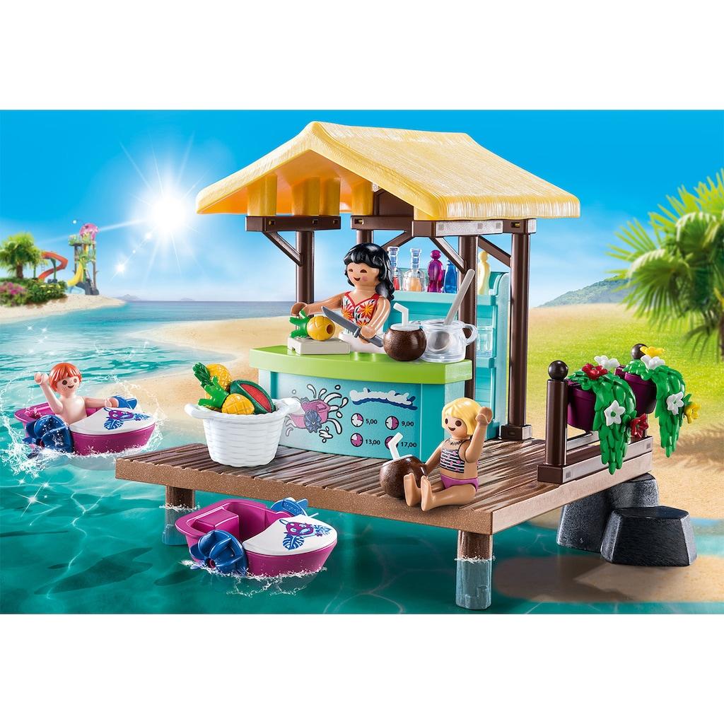 Playmobil® Konstruktions-Spielset »Paddelboot-Verleih mit Saftbar (70612), Family Fun«, (91 St.), Made in Germany