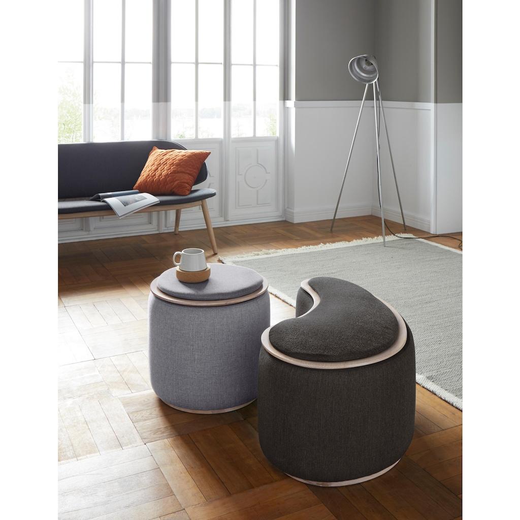 andas Beistelltisch »Larsen«, mit Stauraum in Pouf-Optik, Design by Morten Georgsen