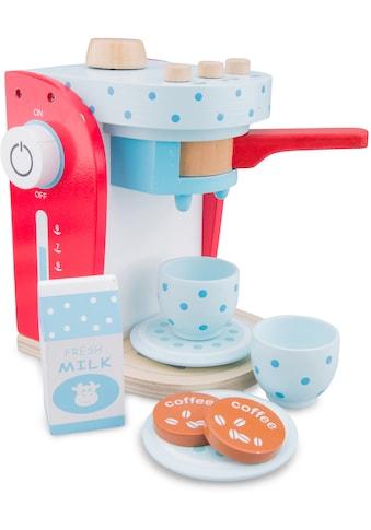 New Classic Toys® Kinder-Kaffeemaschine »Bon Appetit - Kaffeemaschine blau-weiß« kaufen