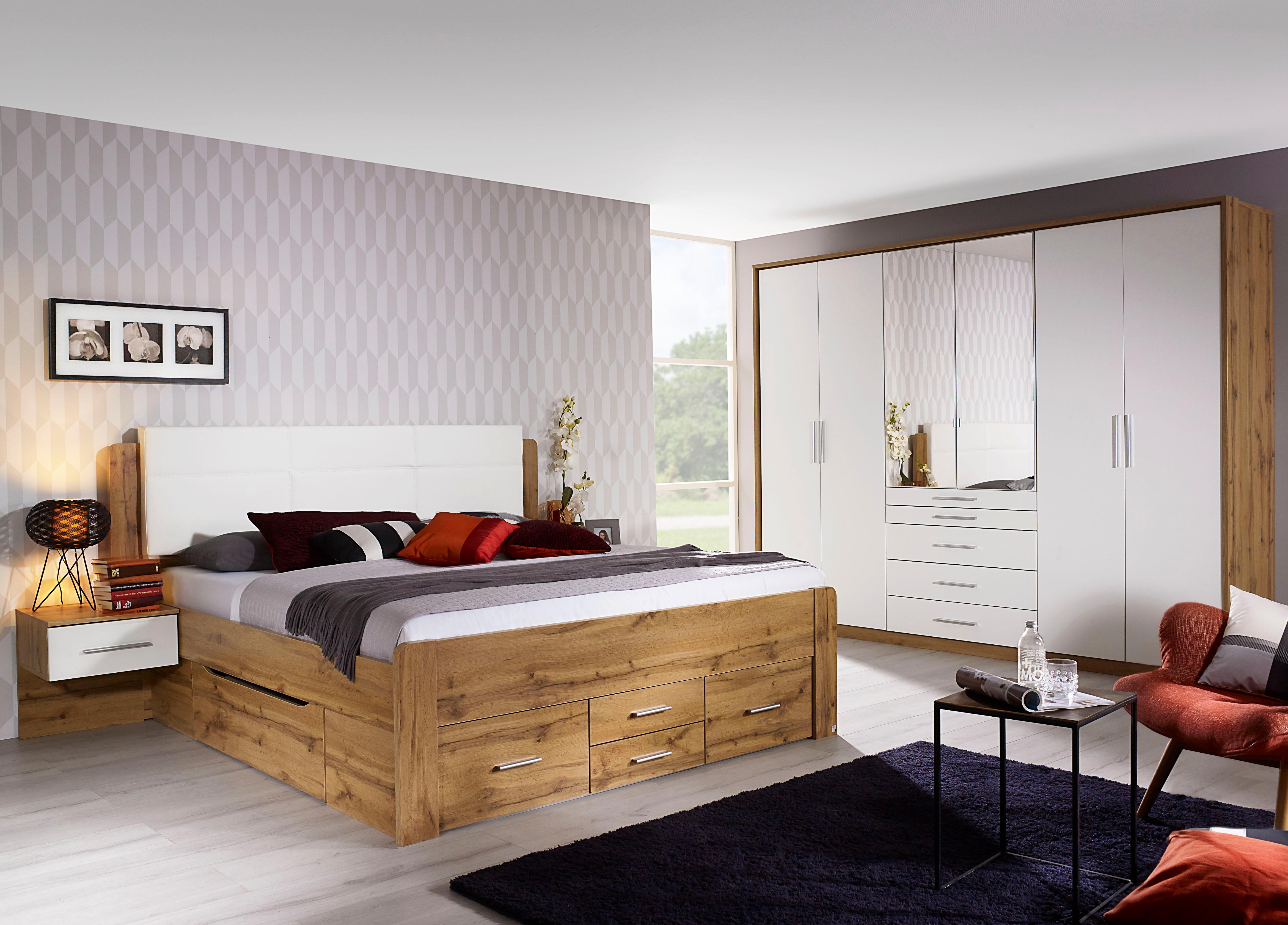 rauch Schlafzimmer-Set Weingarten (Set 4-tlg) | Schlafzimmer > Komplett-Schlafzimmer | Weiß | Rauch