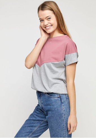 MAZINE T-Shirt »Mina«, im Kontrast-Design kaufen