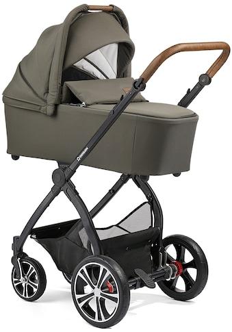 Gesslein Kombi-Kinderwagen »FX4 Life, schwarz/tabak mit Wanne CX3, olivgrün/Herz... kaufen