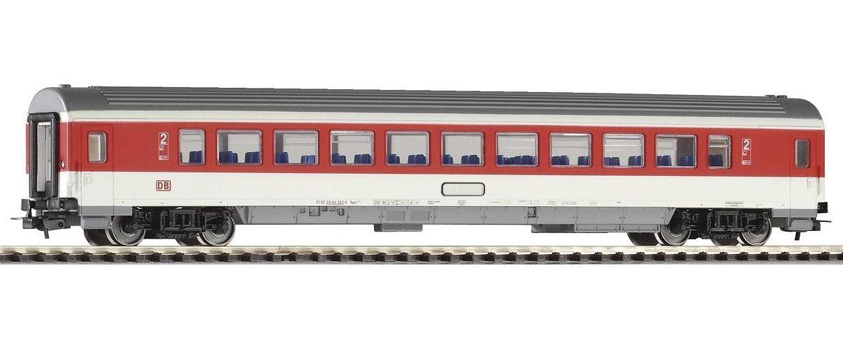 PIKO Personenwagen IC Personenwagen 2. Klasse, rotes Fensterband, DB AG, Spur H0