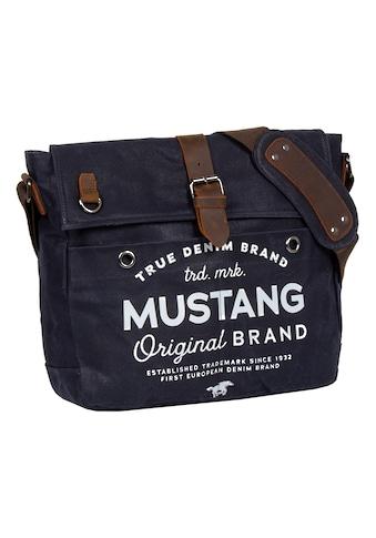 MUSTANG Messenger Bag »Genua«, mit schickem Logoaufdruck kaufen