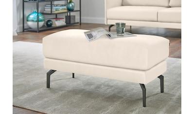 hülsta sofa Hockerbank »hs.450«, mit Metallfüßen kaufen