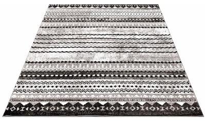 Carpet City Teppich »Moda 1136«, rechteckig, 11 mm Höhe, Kurzflor, Wohnzimmer kaufen
