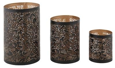Windlicht »Blattlook« (Set, 3 Stück) kaufen
