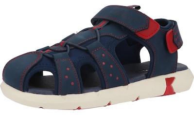 Kickers Riemchensandale »Leder/Textil« kaufen