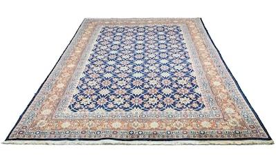 morgenland Wollteppich »Hamadan Teppich handgeknüpft blau«, rechteckig, 12 mm Höhe kaufen