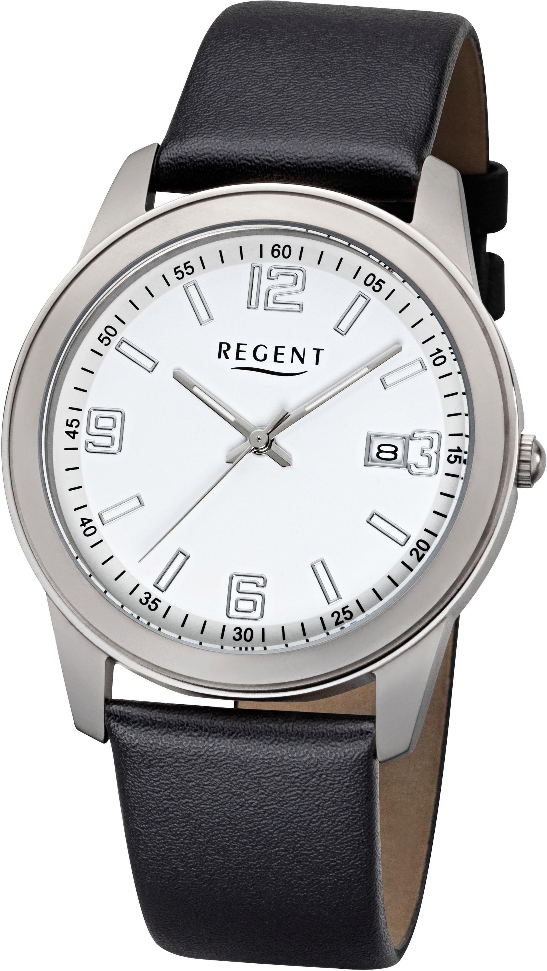 Regent Quarzuhr 11409020 | Uhren > Quarzuhren | Schwarz | Regent