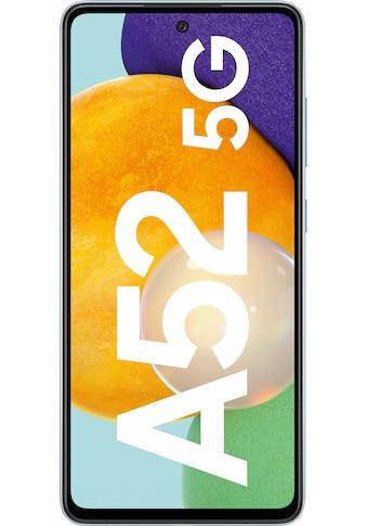 """Samsung Smartphone »Galaxy-A52 5G«, (16,4 cm/6,5 """" 128 GB Speicherplatz, 64 MP Kamera) kaufen"""