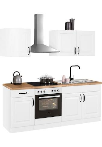 wiho Küchen Küchenzeile »Erla«, ohne E-Geräte, Breite 210 cm kaufen