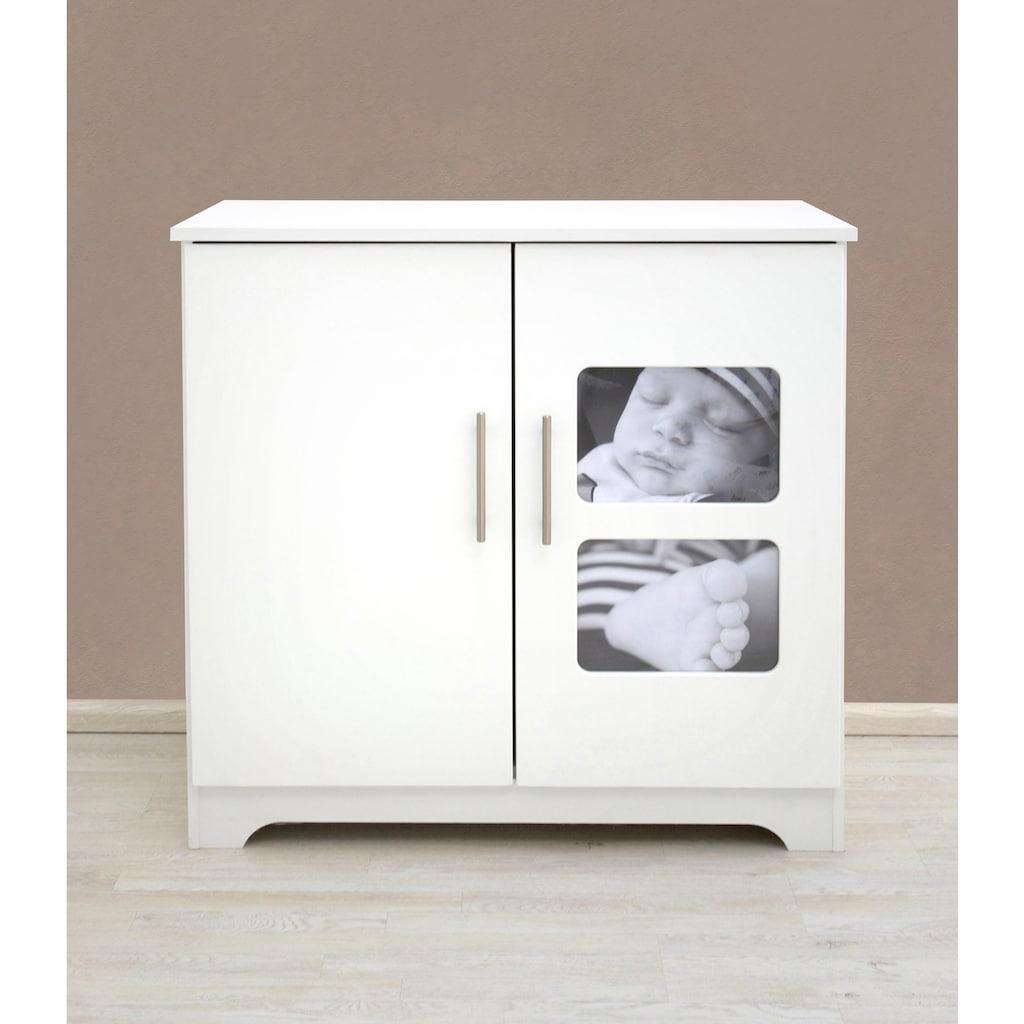 Julius Zöllner Wickelkommode »Moments«, mit eigenem Babyfoto individualisierbar; Made in Germany, 93 cm
