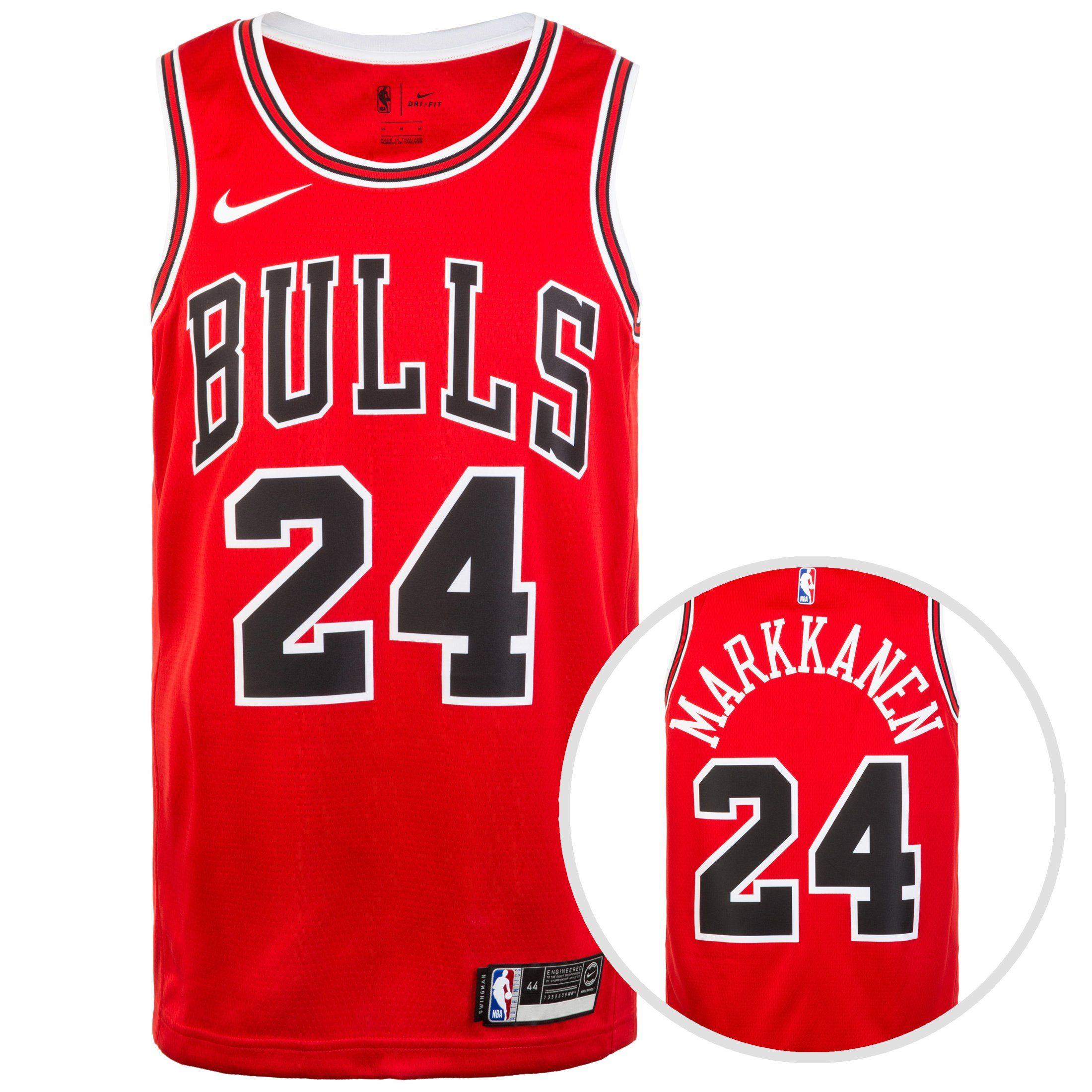 Nike Basketballtrikot »Chicago Buls Nba Swingman« | Sportbekleidung > Trikots > Basketballtrikots | Rot | Trikot | Nike