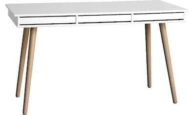 hammel Schreibtisch »MISTRAL«, mit Holzbeinen und drei Schubladen, Breite 137,4 cm, Danish Design kaufen