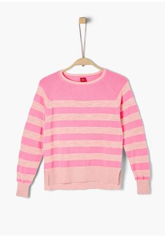 s.Oliver Strick - Pullover_für Mädchen kaufen