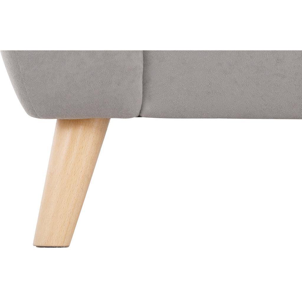 Home affaire 2-Sitzer »Blackburn Luxus«, mit besonders hochwertiger Polsterung für bis zu 140 kg pro Sitzfläche