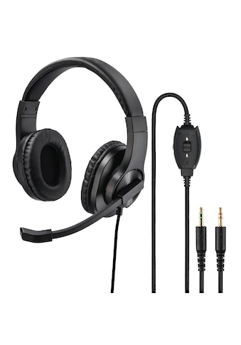 "Hama PC - Office - Headset ""HS - P300"", Stereo, Schwarz »Home Office« kaufen"