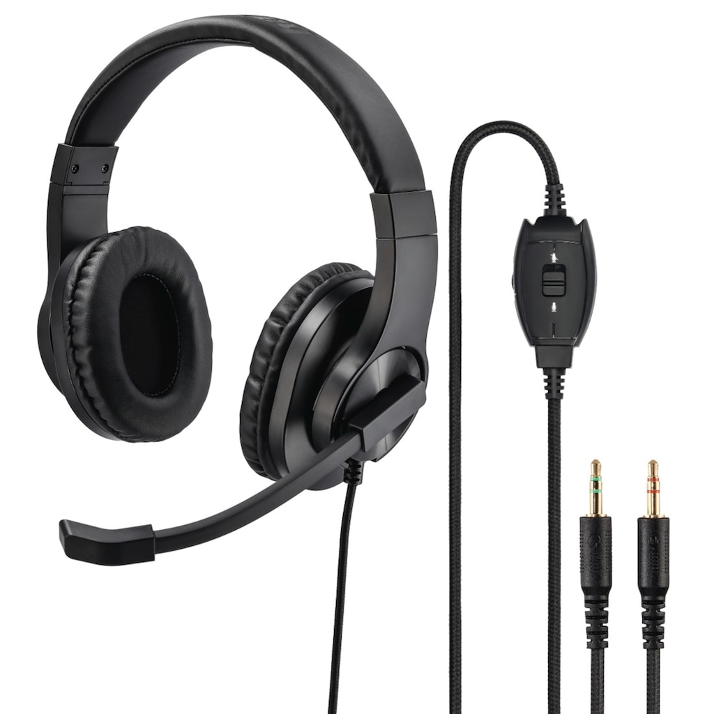 "Hama PC-Office-Headset ""HS-P300"", Stereo, Schwarz"